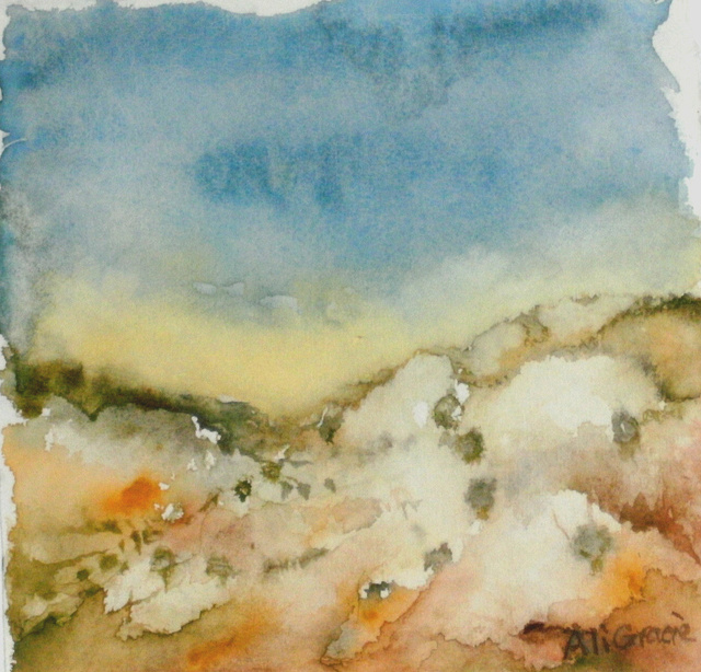 Troodos Mountains Study 1 by Alison Gracie