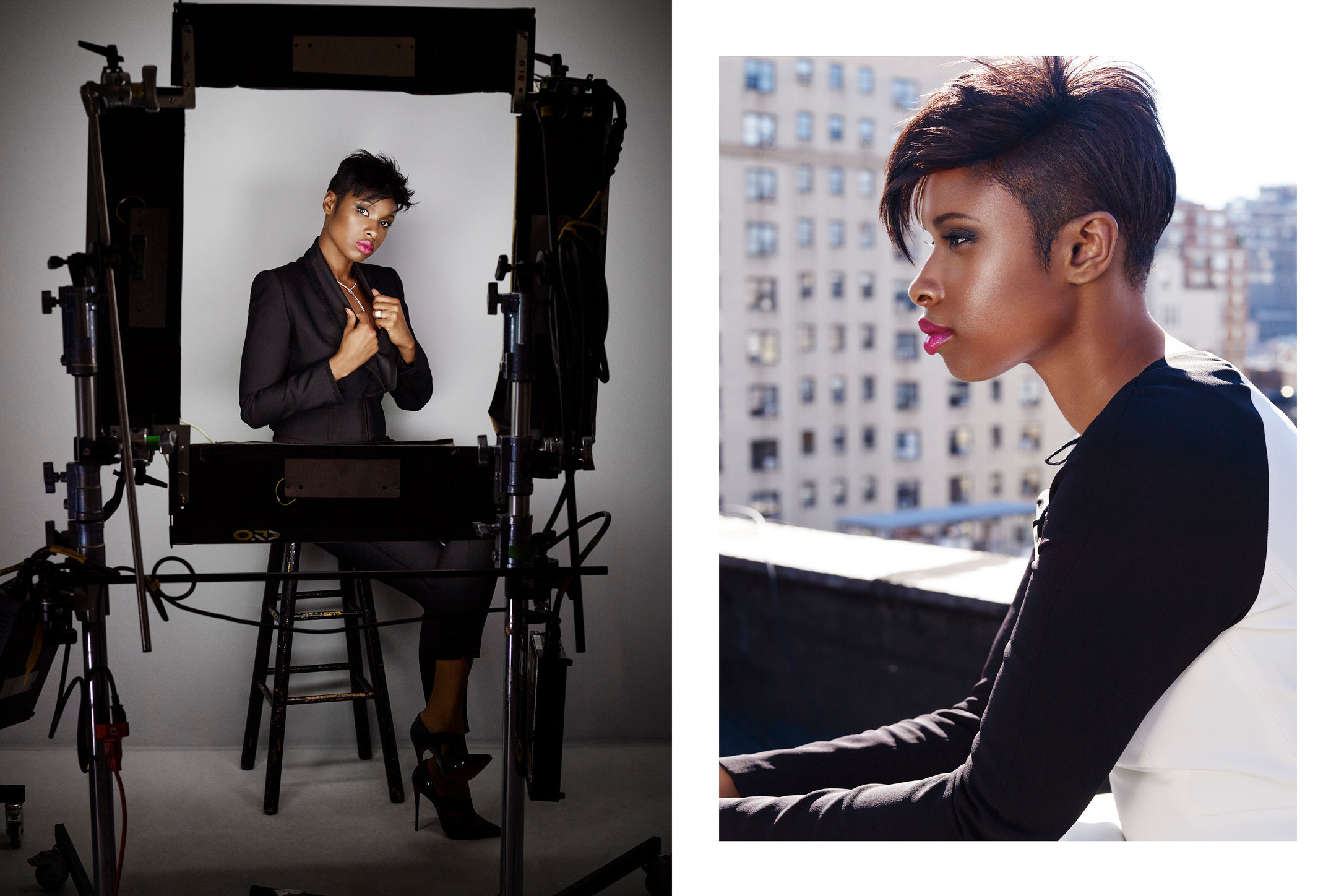 Glamour. Jennifer Hudson. October, 2014.