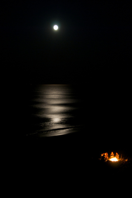 Bonfire, Nauset Light Beach, MA