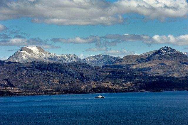 Le ferry pour l'île de Skye