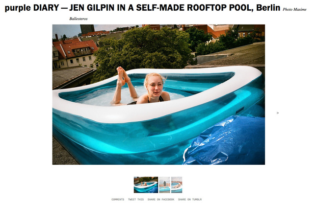 purple DIARY   JEN GILPIN IN A SELF MADE ROOFTOP POOL  Berlin.jpg