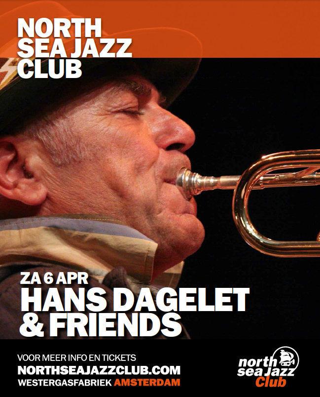 Concert Flyer Hans Dagelet