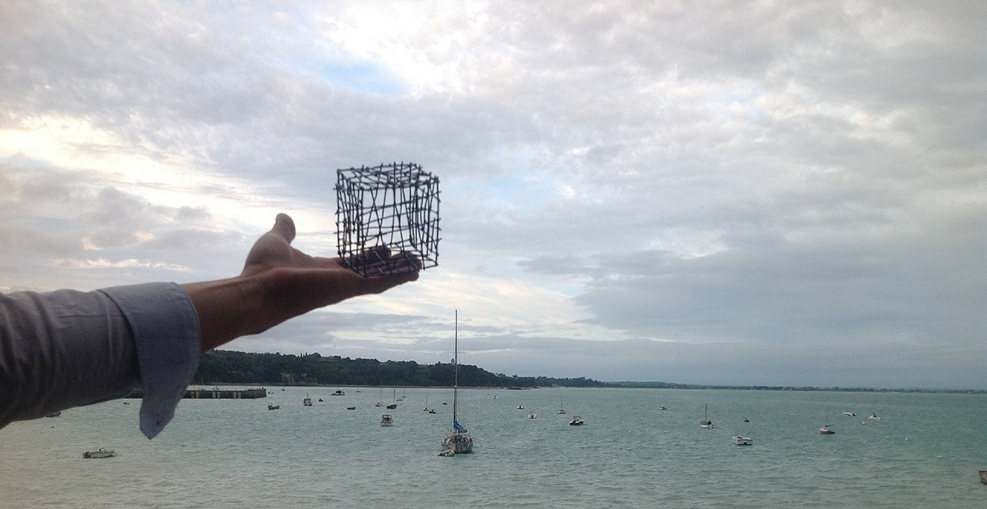Cube in Cancale (July, 2012)