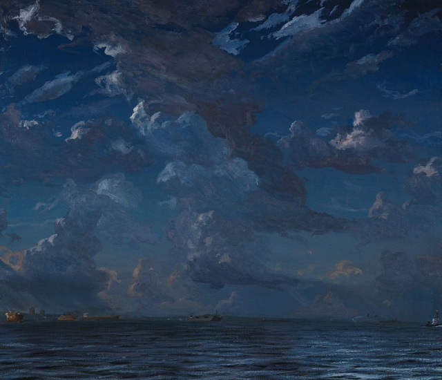 "Summer Clouds      40 x 46"""