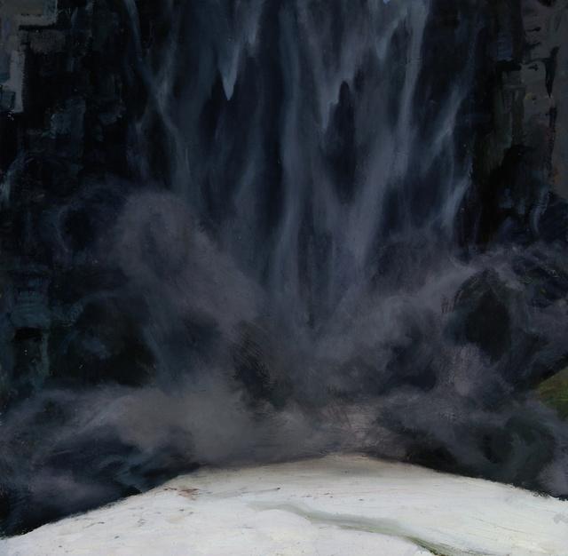 """Taughannock Falls, 24 x 24"""""""