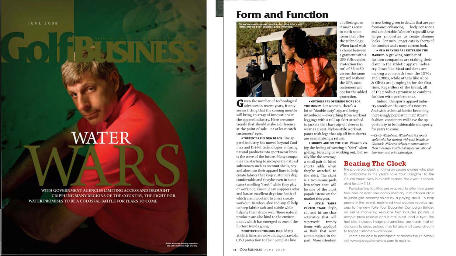 Women's Golf Wear / Golf Business Magazine