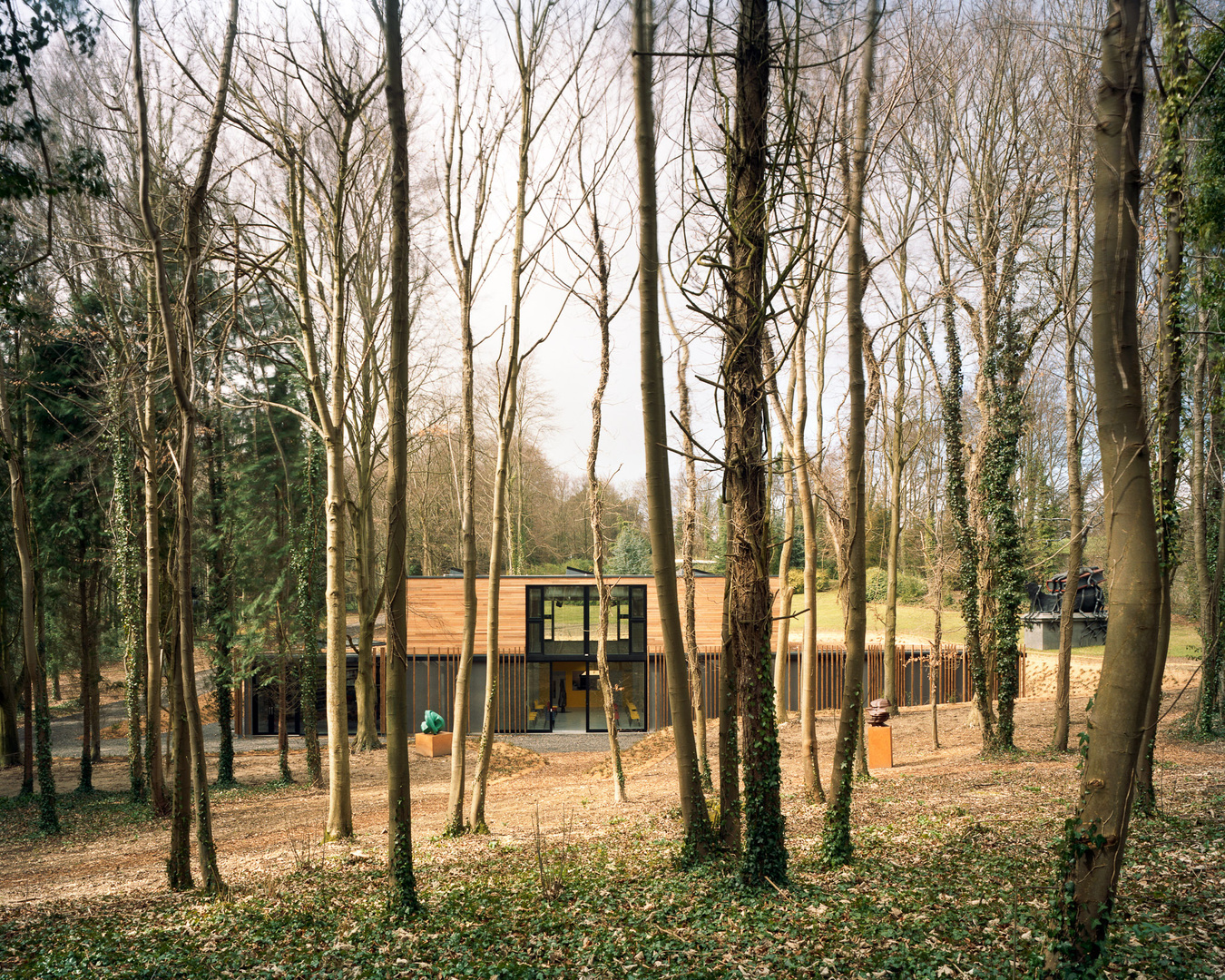 Cass Sculpture Foundation. Sussex. Studio Downie Architects