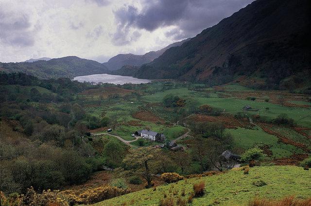Tal y LLyn Lake, Snowdon, Galles