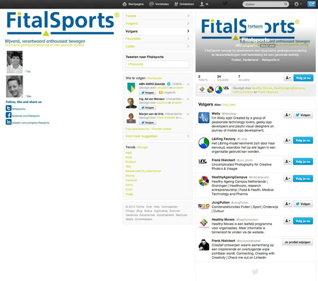 Social Media FitalSports