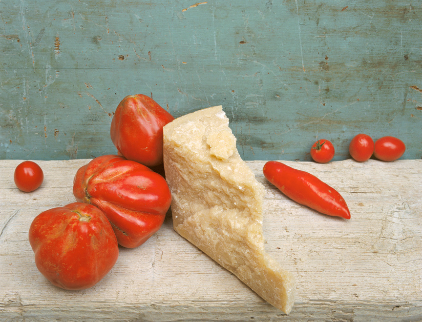 Parmesan & Tomatoes, c 2007