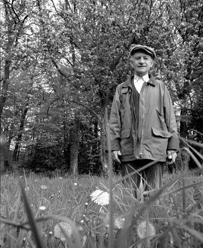 André Pochon, agriculteur, 2000