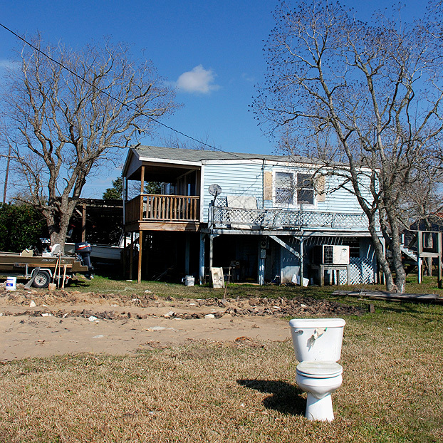 Hurricane Katrina side effects, Lousiana, 2008