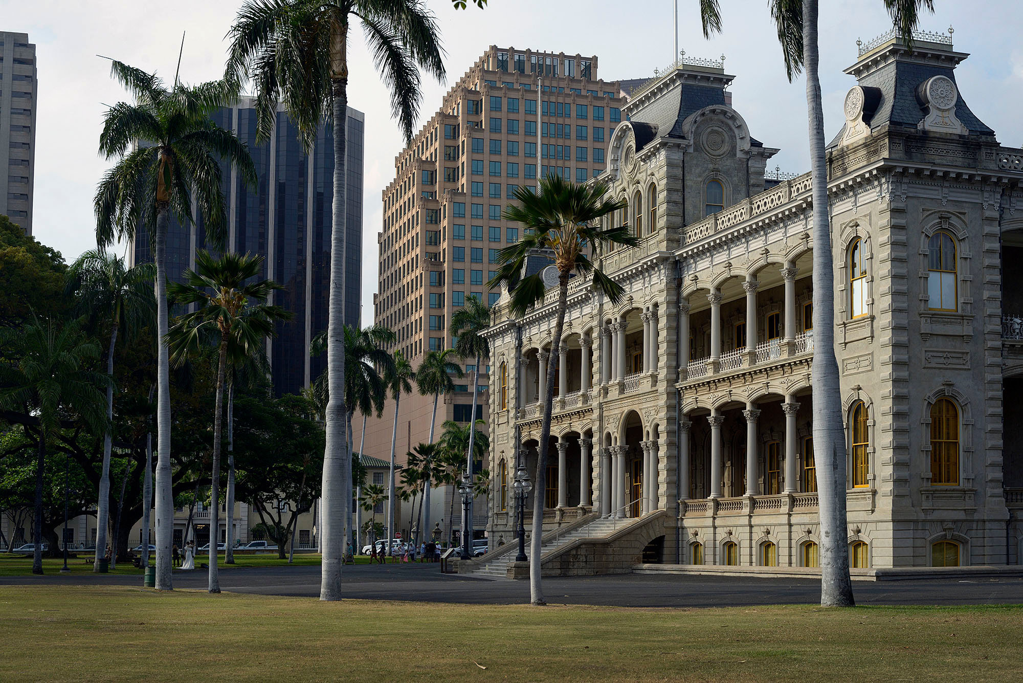 Iolani Palace, seat of government for the Hawaiian kingdom