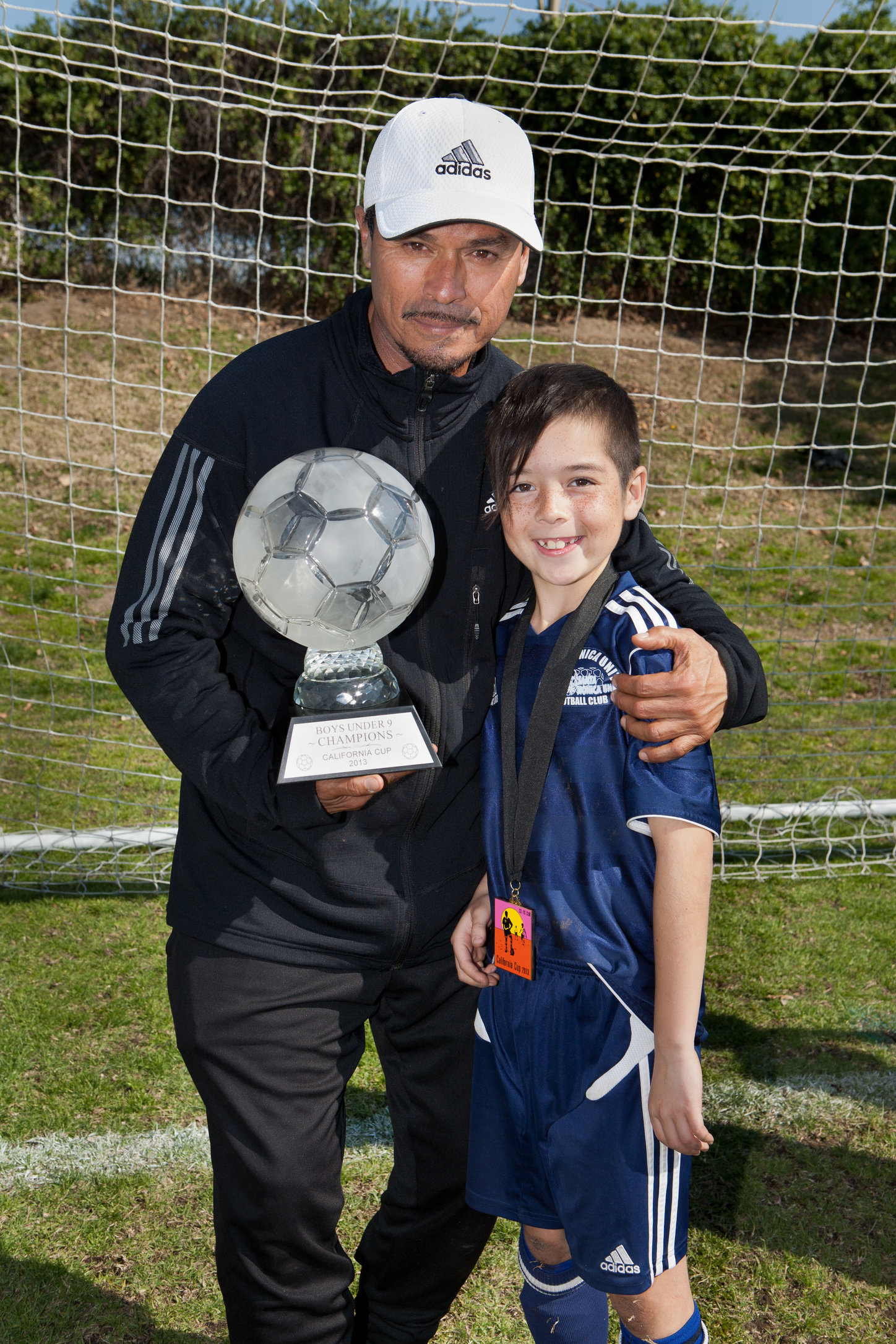 Coach Nico and Jack Felix-Meyer