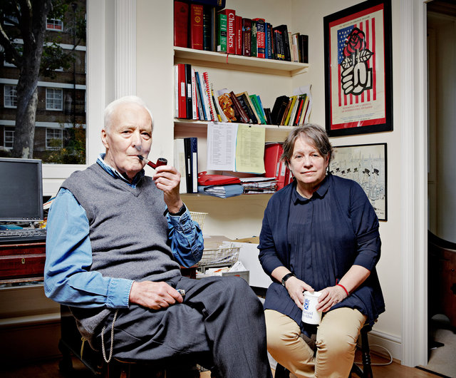 Tony Benn & Lindsey German, London