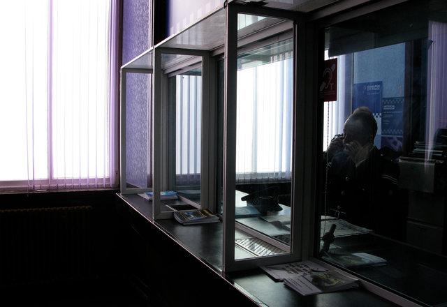 Dressed Set - Police Station reception