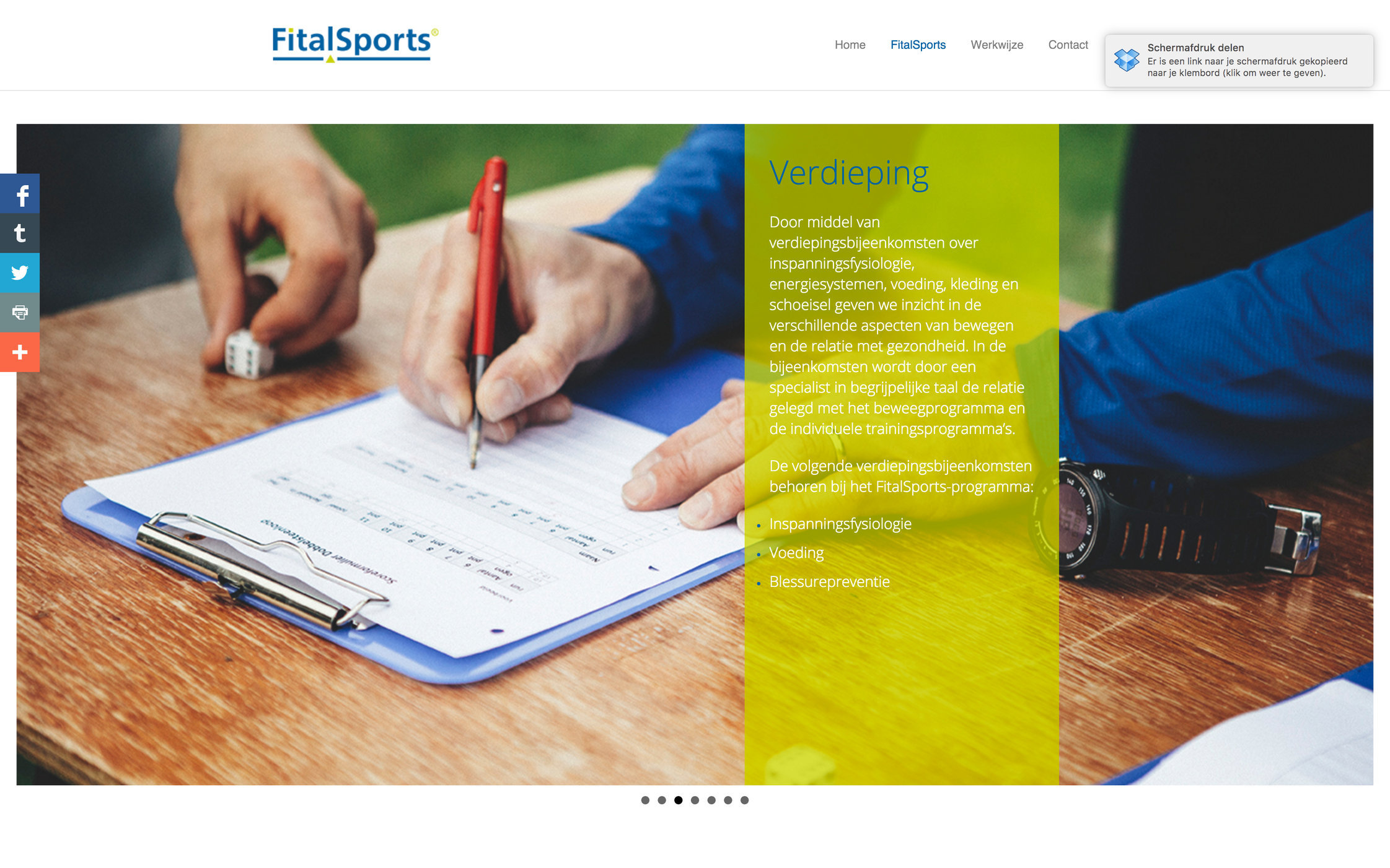 New website for FitalSports