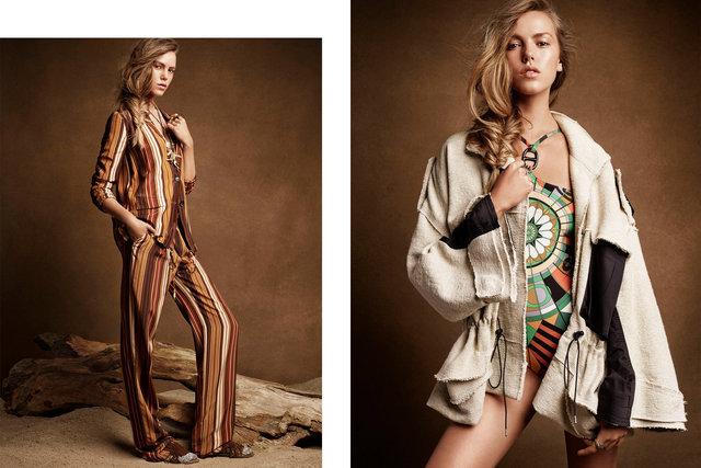 Vogue Australia. Josefien Rodermans. Global Roaming. January, 2014