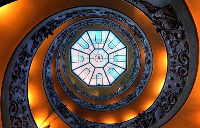 Spiral Staricase, Sistine Chapel, Rome