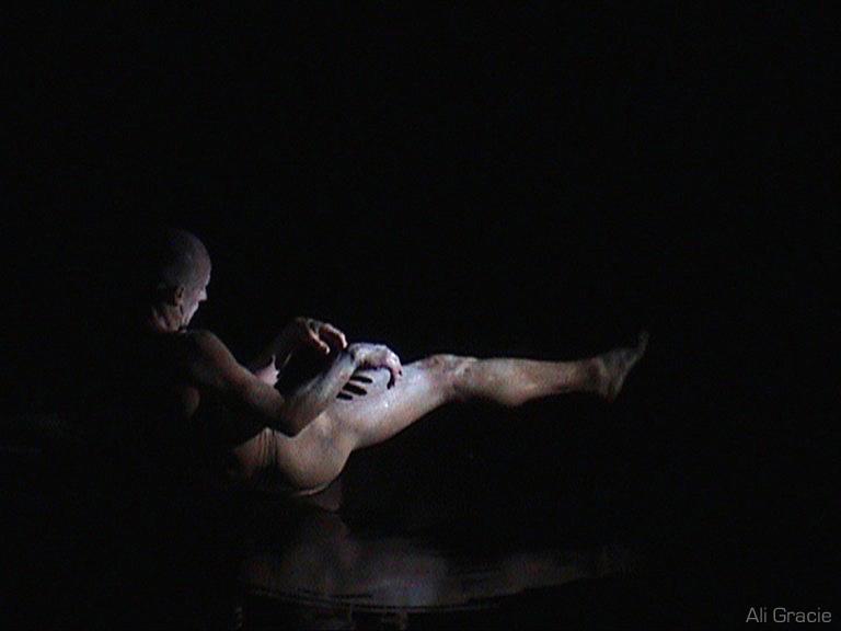 Derevo Theatre Performer by Alison Gracie