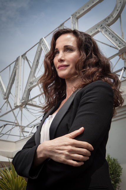 andie macdowell, actress
