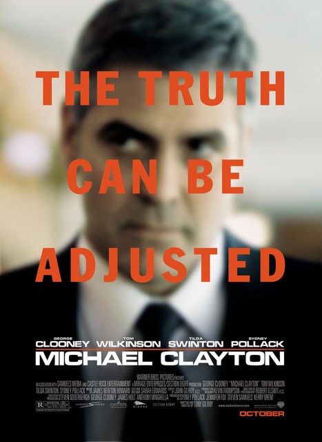 FIlm Credit and art placement in Michael Clayton