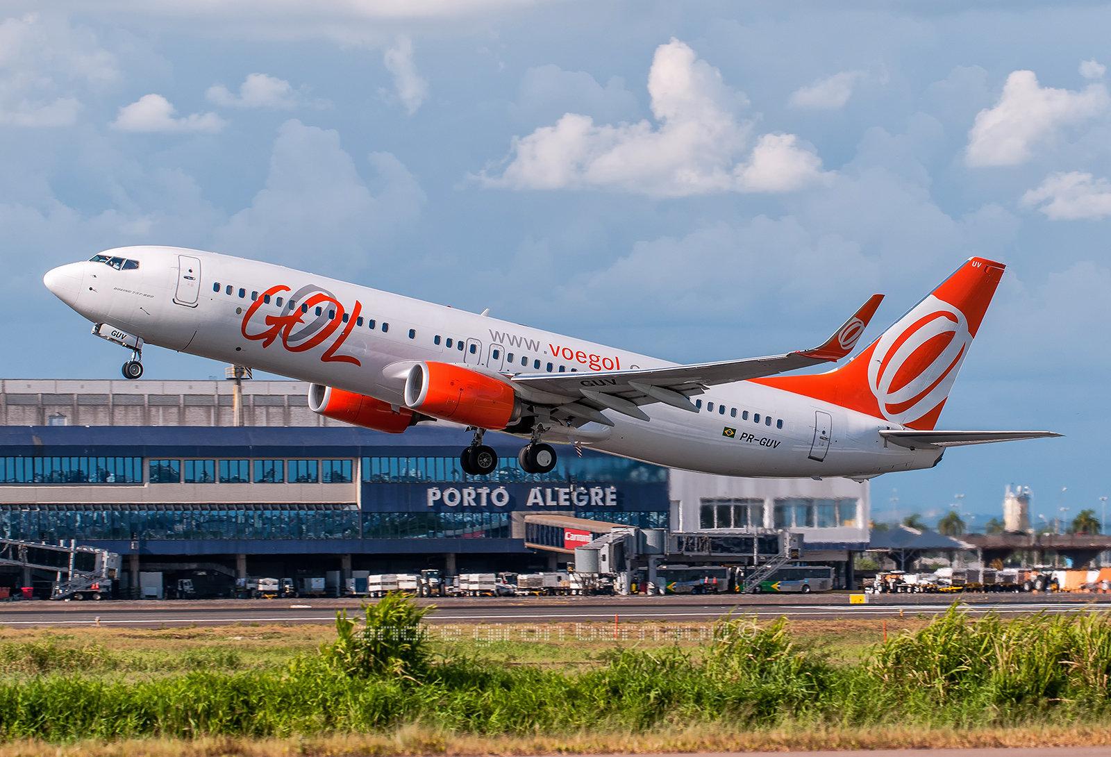 Boeing 737-8EH/SFP/W GOL Trasp. Aereos PR-GUV