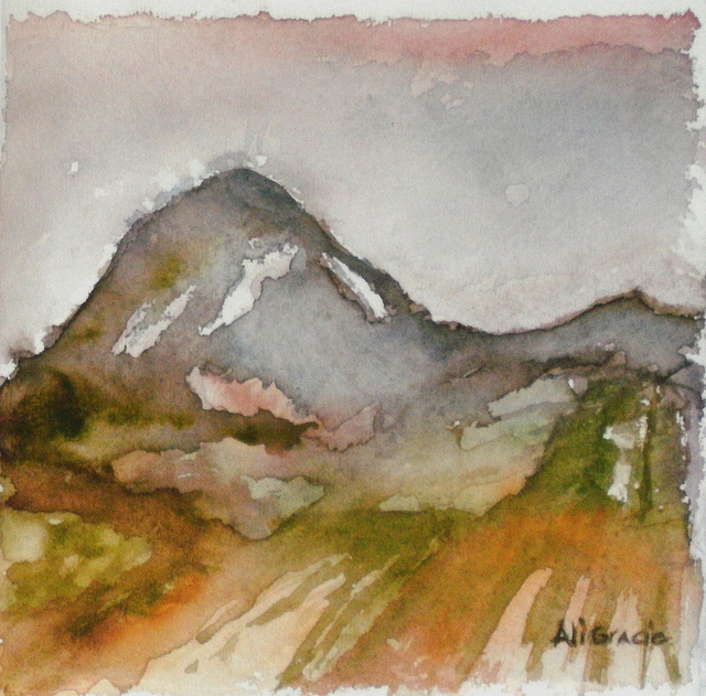 Mountains Study 1 by Alison Gracie
