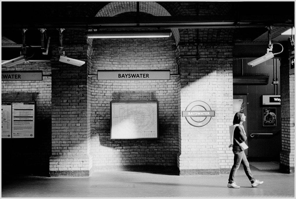Bayswater Station, London