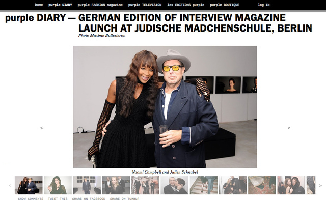 purple DIARY   GERMAN EDITION OF INTERVIEW MAGAZINE LAUNCH AT JUDISCHE MADCHENSCHULE  BERLIN.png