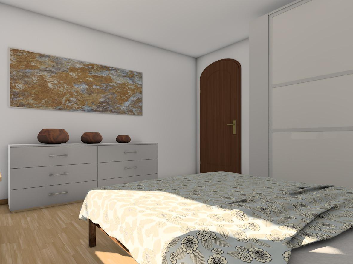 Umwandlung Bestandswohnung | Schlafzimmer Sideboard