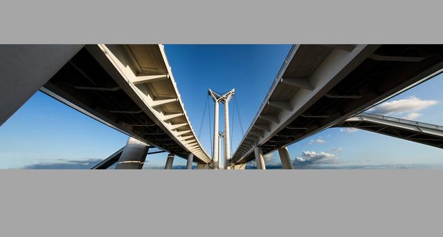 Pont levant Gustave-Flaubert, Rouen