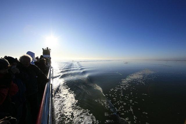 boot naar schiermonnikoog