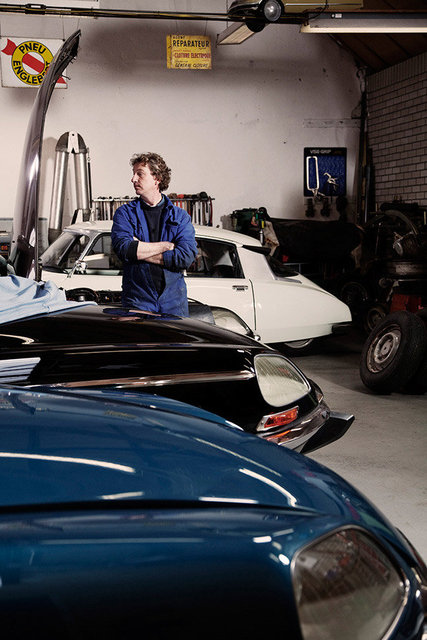garage citroën DS