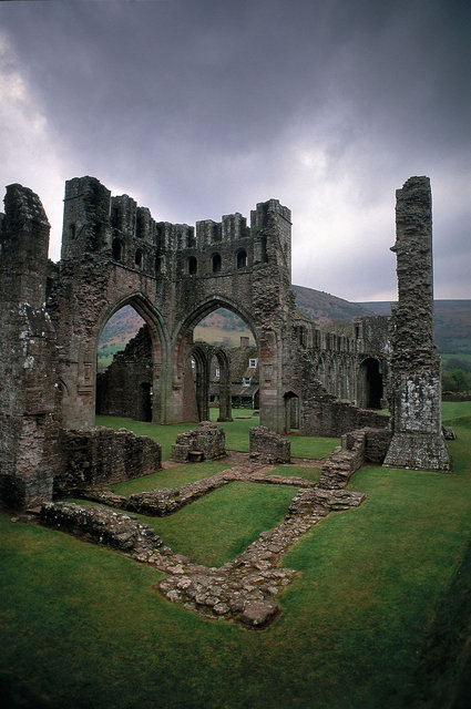 llanthony Priory, pays de Galles