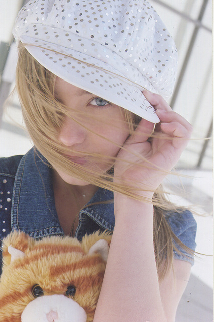 "LINDSAY MILLER-  CHILD MODEL.  LEVI JEANS CAMPAIGN, TV host of tv's ""On the Go, East Coast""."